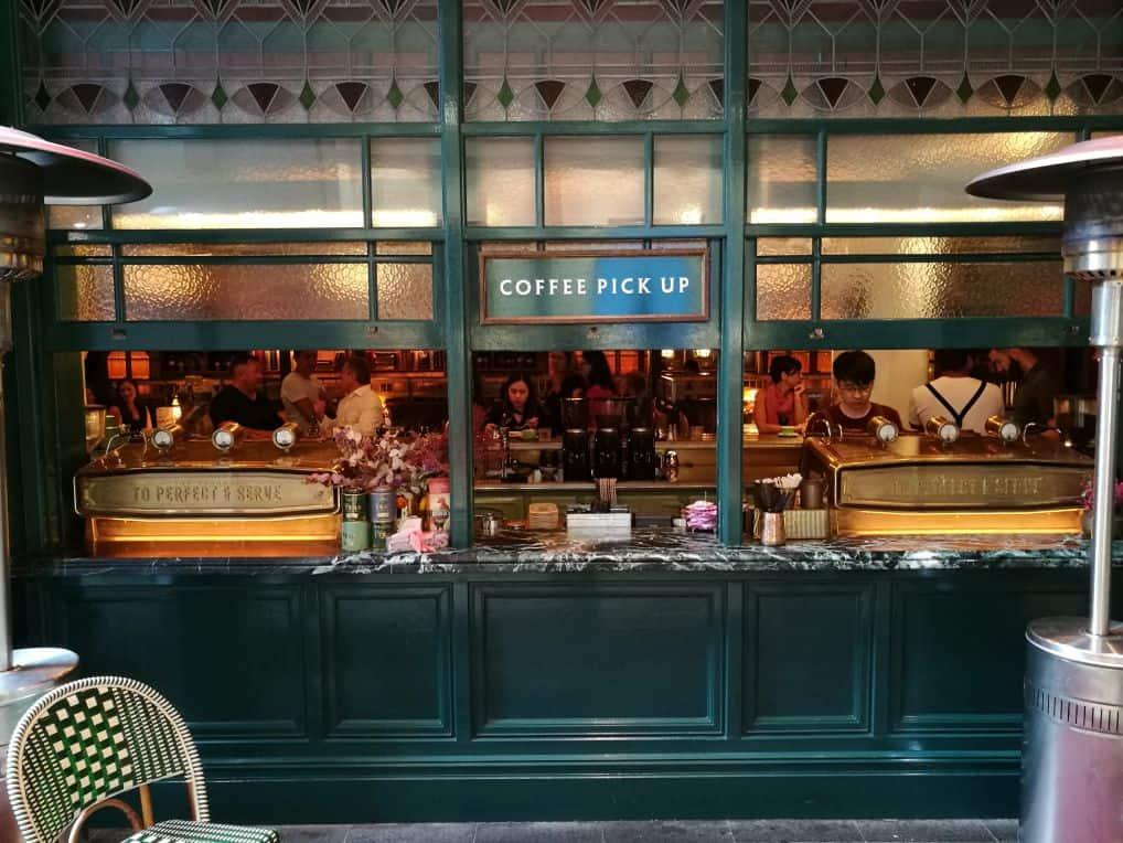 Coffee shop u Sydneyu