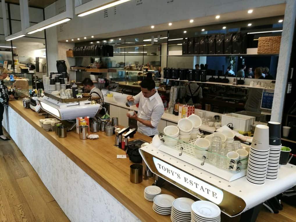Toby's Estate coffee shop